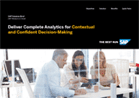 SAP Analytics Cloud Brochure