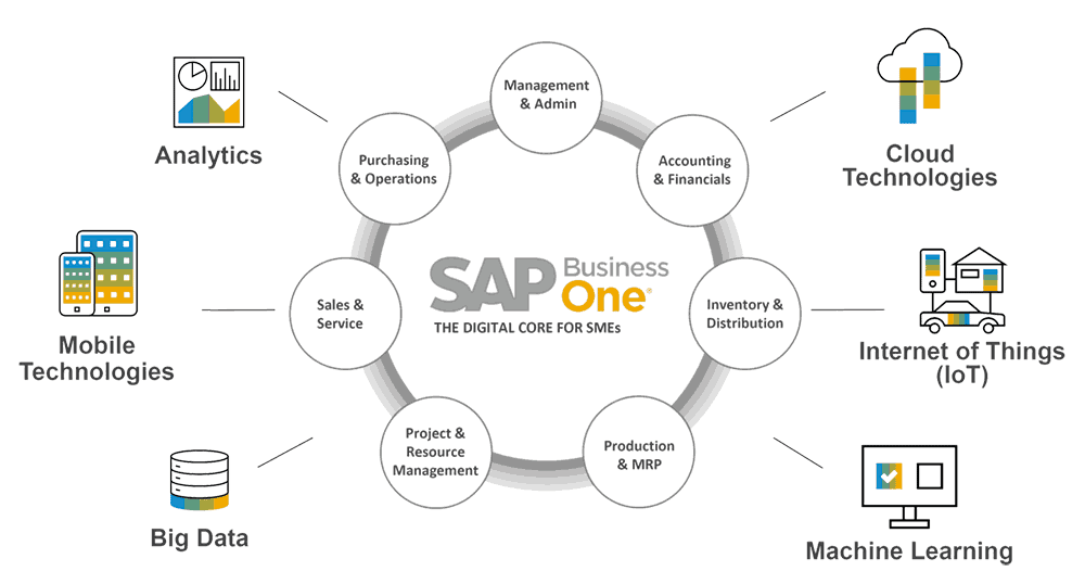 SAP Business One Core Modules